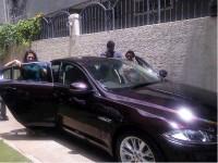 Upendra Birthday Gift Jaguar Car By His Wife Priyanka