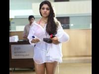 Actress Nayantara Hot Bikini Pics In Arrambam