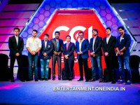 Celebrity Cricket League 4 Darshan As Opener Karnataka Bulldozers 081167 Pg