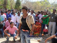 Ranavikrama Crew Causes Threat Hampi Heritage Hwhama Green Signal