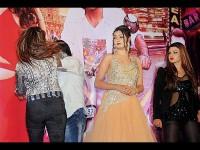 Slap Molestation Charges Fight Rakhi Sawant S Event