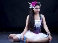 Actress Meghana Gaonkar S First Look The Gulabi Street
