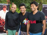 Shivarajkumar Puneeth Rajkumar Starrer Production A First Look Poster Out