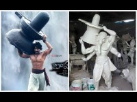 In Pic Baahubali Craze Inspired Lord Ganesha Idols