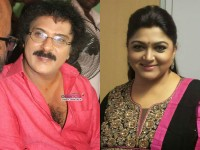 Actress Kushboo In Bengaluru Meets Kannada Actor Ravichandran