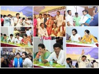Celebraties In Shivarajkumar Daughter S Marriage Lunch In Pics