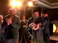 Watch The Video Puri Jagannadh Ram Gopal Varma Enjoy Belly Dance