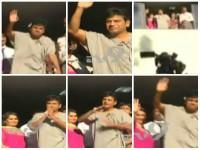 Shivarajkumar Is Healthy Waves Hands To Fans In Mallya Hospital