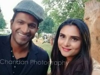 Puneeth Rajkumar And Ramya Shoots For Led Bulb Add