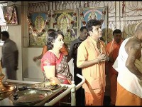 Kannada Actor Shivarajkumar Wears Ayyappa Maala