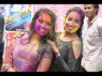 Kannada Film Producers Celebrates Holi Festival