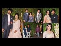 In Pics Tollywood Celebrities In Srija Kalyan Wedding Reception