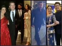 Hindi Actress Preity Zinta Reception Party Pictures