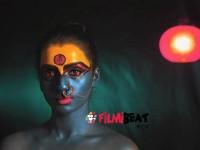 Actress Sruthi Hariharan Wears The Face Of Kaali In Kannada Movie Urvi
