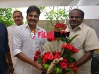 In Pics H D Kumaraswamy Meets Pawan Kalyan In Hyderabad