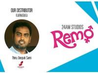Distributor Deepak Sami To Release Remo In Karnataka