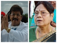 Kannada Actress Leelavathi Received Dr Vishnuvardhan Award