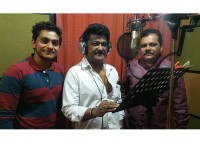 Kannada Actor Jaggesh Sings For Music Album