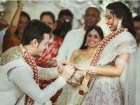 In Pics Akhil Akkineni Gets Engaged To Shriya Bhupal