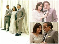 In Pics Ambareesh Sumalatha Celebrates 25th Wedding Anniversary In Malaysia