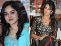 Controvercy Between Mandya Mumbai Heroines Sanjana Amrutha Rao