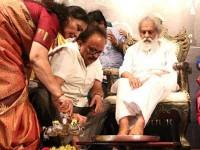 Multilingual Singer Sp Balasubrahmanyam Honours Legend Singer Kj Yesudas