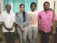 Duniya Vijay Donates Two Autos