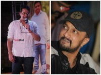 Ravishankar Thanks Sudeep During Hebbuli Press Meet