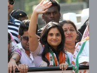 Actress And Ex Mp Ramya Spotted At Tumkur
