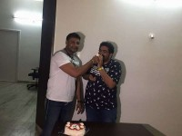 Darshan And Tarun Sudhir Celebrate Chowka 50 Days Party