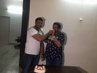 Darshan And Tarun Sudhir Celebrate Chowka 50 Days Party