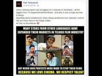 Upendra Has Got Fans In Telugu States Troll Tollywood