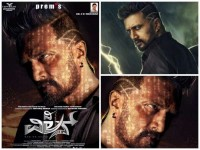 Sudeep Reveals His New Hair Style For The Villain