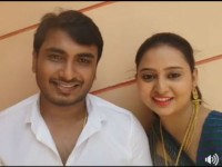 Amulya And Jagadish Has Come Facebook Live To Invite Fans For The Reception