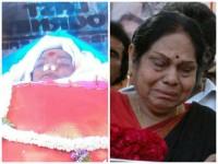 Kannada Actress Leelavathi Condoles Death Of Parvathamma Rajkumar