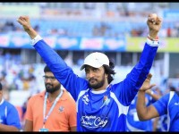 Sudeep Is Away In London For Play Cricket
