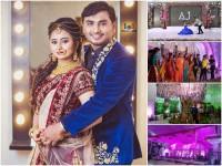 Amulya And Jagadish Reception