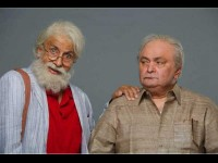 Rishi Kapoor And Amitabh Bachchan 102 Not Out First Look Released