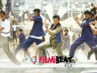 In Pics Puneth Rajkumar Starrer Anjaniputra Introduction Song Making