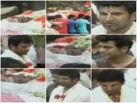 Kannada Producer Parvathamma Rajkumar Cremation