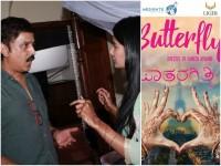 Kannada Movie Butterfly Making Stills Out