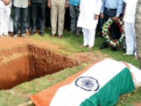 Tricolour On Parvathamma S Coffin Lawyer Files Complaint
