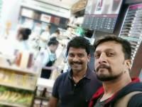 Sudeep And Director Prem In Bangkok