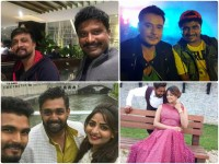 Kannada Film Stars Busy With Their Shooting In Foreign