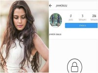 Sangeetha Bhat Gets Annoyed With Unknown Person In Facebook