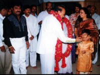 Jaggesh Children S Named After Kannada Actor Dr Rajkumar