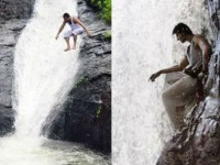 Man Copies Prabhas S Baahubali Stunt Jumps Mahuli Waterfalls And Dies