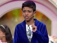 Super Hosting By A Boy Majaa Takies Like A Junior Talking Star
