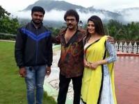 In Pics Radhika Kumaraswamy Takes Part In Rajendra Ponnappa Shooting