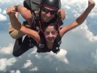 Sanjana Does Skydiving In America